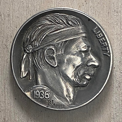 Ron Landis Signed and Dated Hobo Token