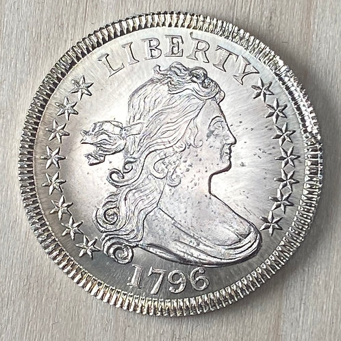1796 Quarter reproduction with Die Chip