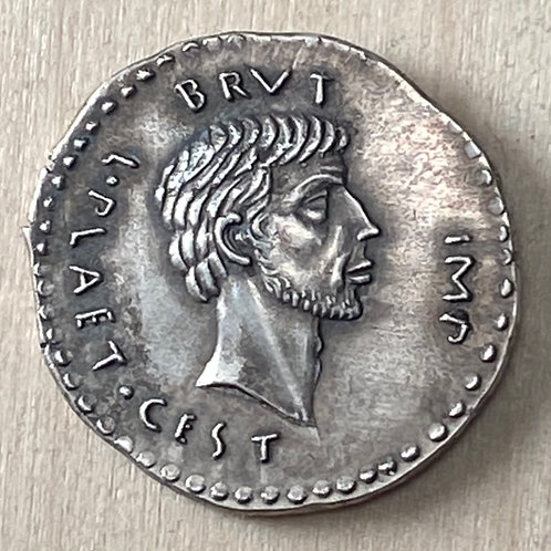Eid Mar Roman silver reproduction