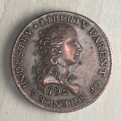 1792 Birch Cent reproduction