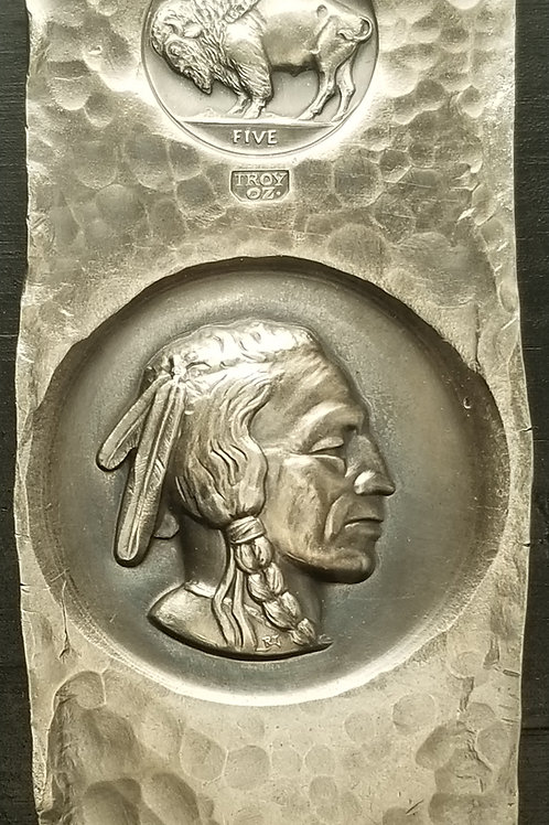 Custom Indian Head X-Ray Bar by Timothy Grat