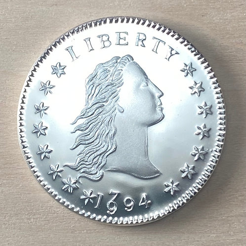 1794/1994 Flowing Hair dollar