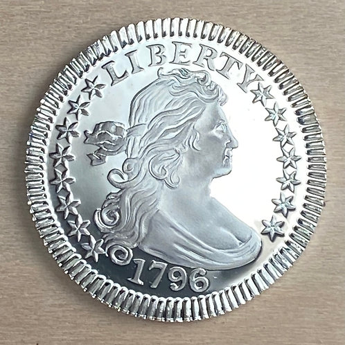 Two(2) Piece Set-1796 Draped Bust Quarter Proof reproductions