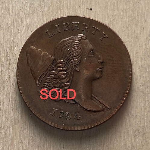 1794 Half Cent reproduction
