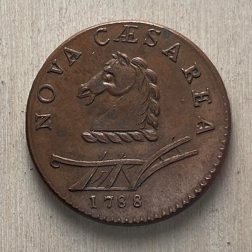 1788 New Jersey Copper reproduction