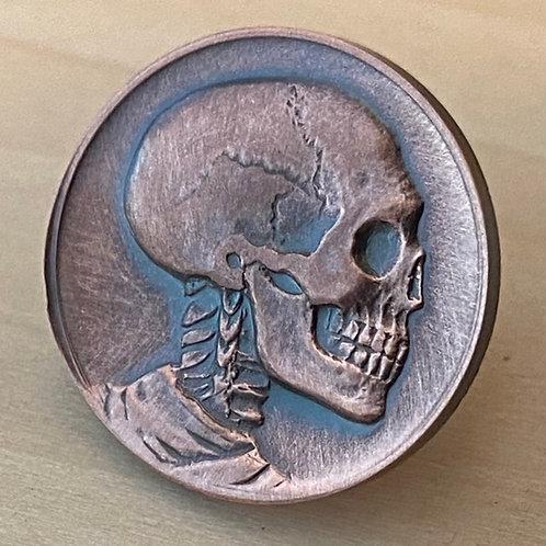 Miniature Skull Pin