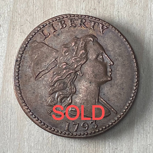 1793 Large Cent reproduction