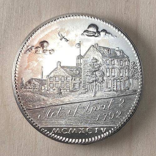 1994 Silver Commemorative Medal