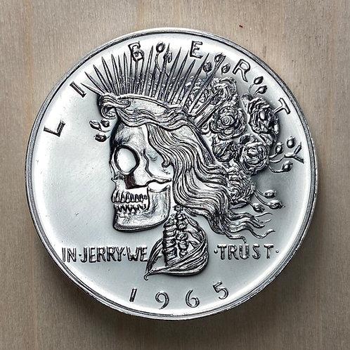 Silver Deadhead Commemorative
