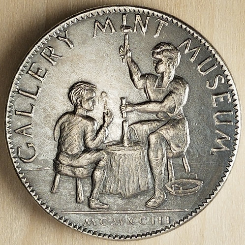 1993 Silver Commemorative Medal