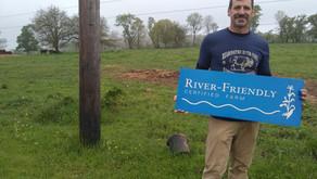 Readington River Buffalo Farm is Certified as River-Friendly Farm