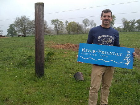 Readington River Buffalo Farm is Certified as River-Friendly Farm