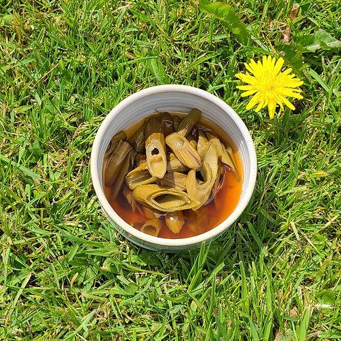 Japanese knotweed soy pickle (v) 호장근 피클