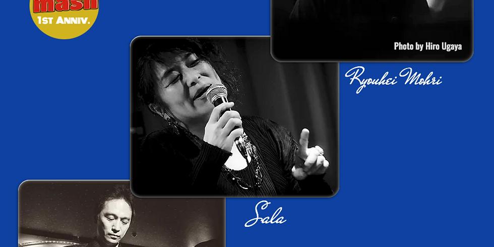 6月20日18時/Sala's Session/Sala、坂上真一、毛利良平