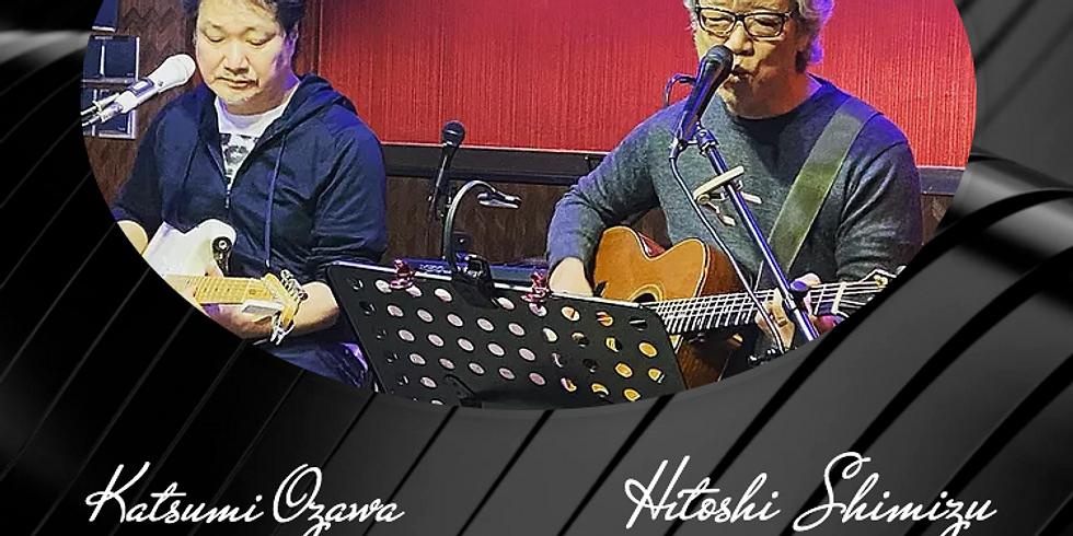 7月21日18時半/清水仁with小沢勝巳LIVE!