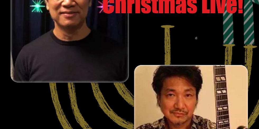 12月24日19時半/清水仁with小沢勝巳 Chiristmas LIVE!