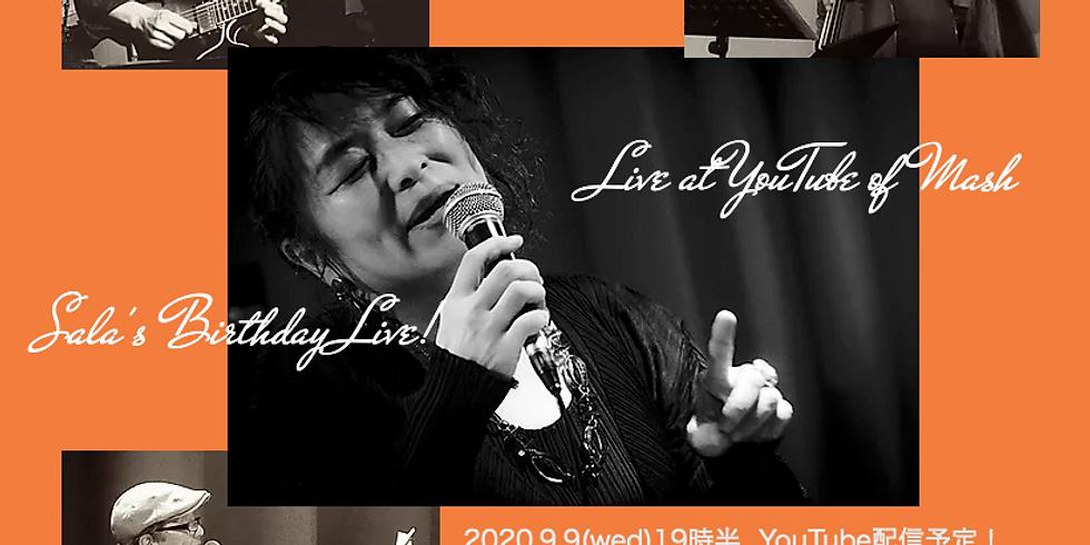9月9日19時半/Sala's Company Live!