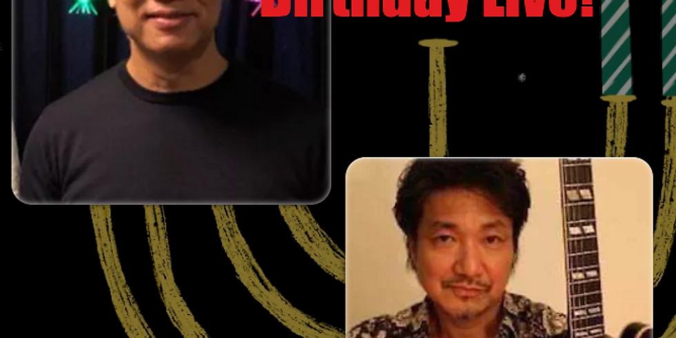 11月25日19時半/清水仁with小沢勝巳 Birthday LIVE!