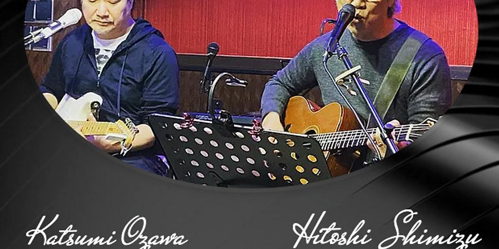4月27日18時半/清水仁with小沢勝巳LIVE!
