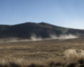 Minera de tajo abierto y bosque de Piedras de Huayllay.