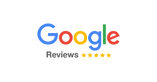 google logo and reviews