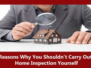 6 Reasons Why You Shouldn't Carry Out A Home Inspection Yourself
