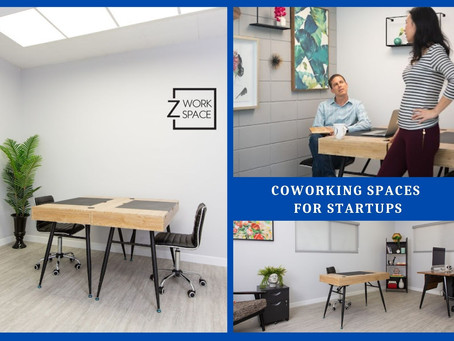 What Makes Coworking Spaces the Right Option for Startup Businesses