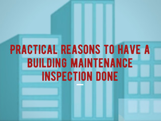 Do you know how inspections can help you in building maintenance?