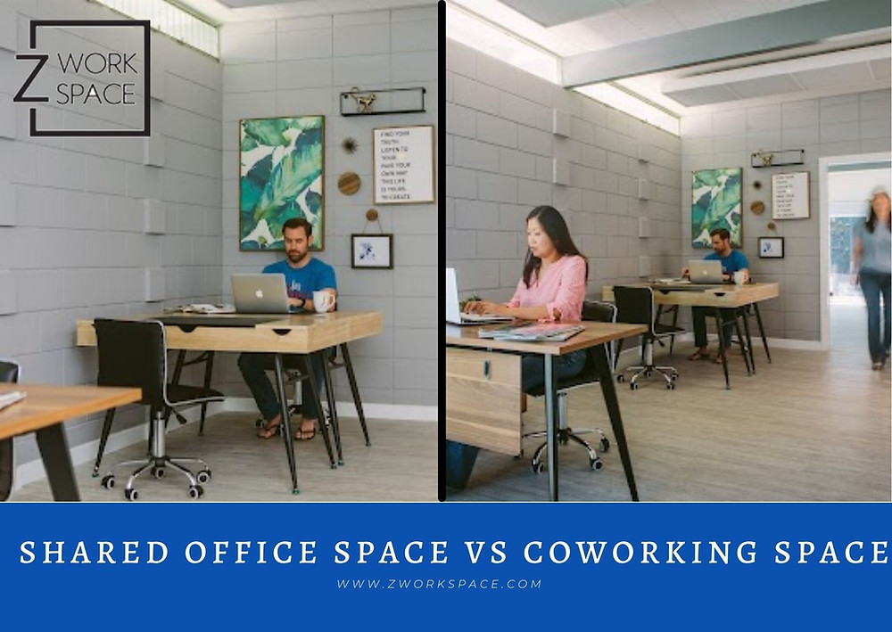 Shared Office Space Vs Coworking Space