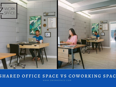 Shared Office Space Vs Coworking Space? Explore the Difference!