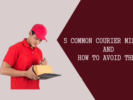 5 common courier mistakes and how to avoid them