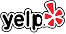 yelp logo and review
