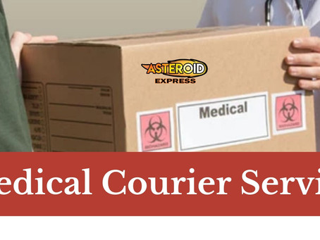Medical Courier Service: What to Look for Before Choosing!
