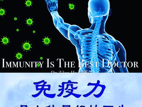 Immunity Is The Best Doctor 👩🏻⚕️: 正气内存,邪不可干😊
