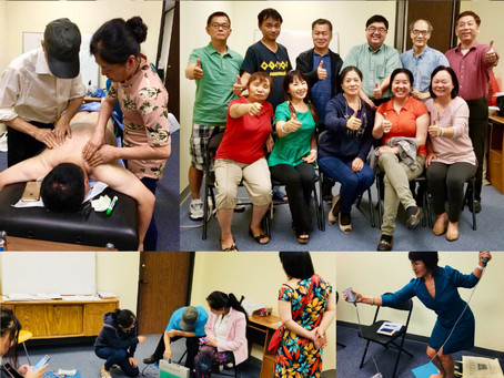🎊祝贺㊗️第2️⃣期美国德州休斯顿生物电新技术培训圆满结束! Second Houston Texas DDS Bio-Electric Therapy Training was Successfu