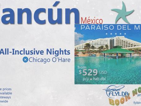 Este verano Cancún, México te espera