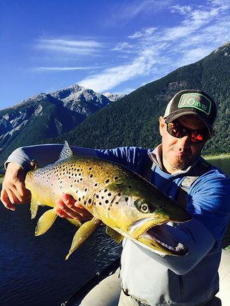 Yelcho Lodge Trout Fishing