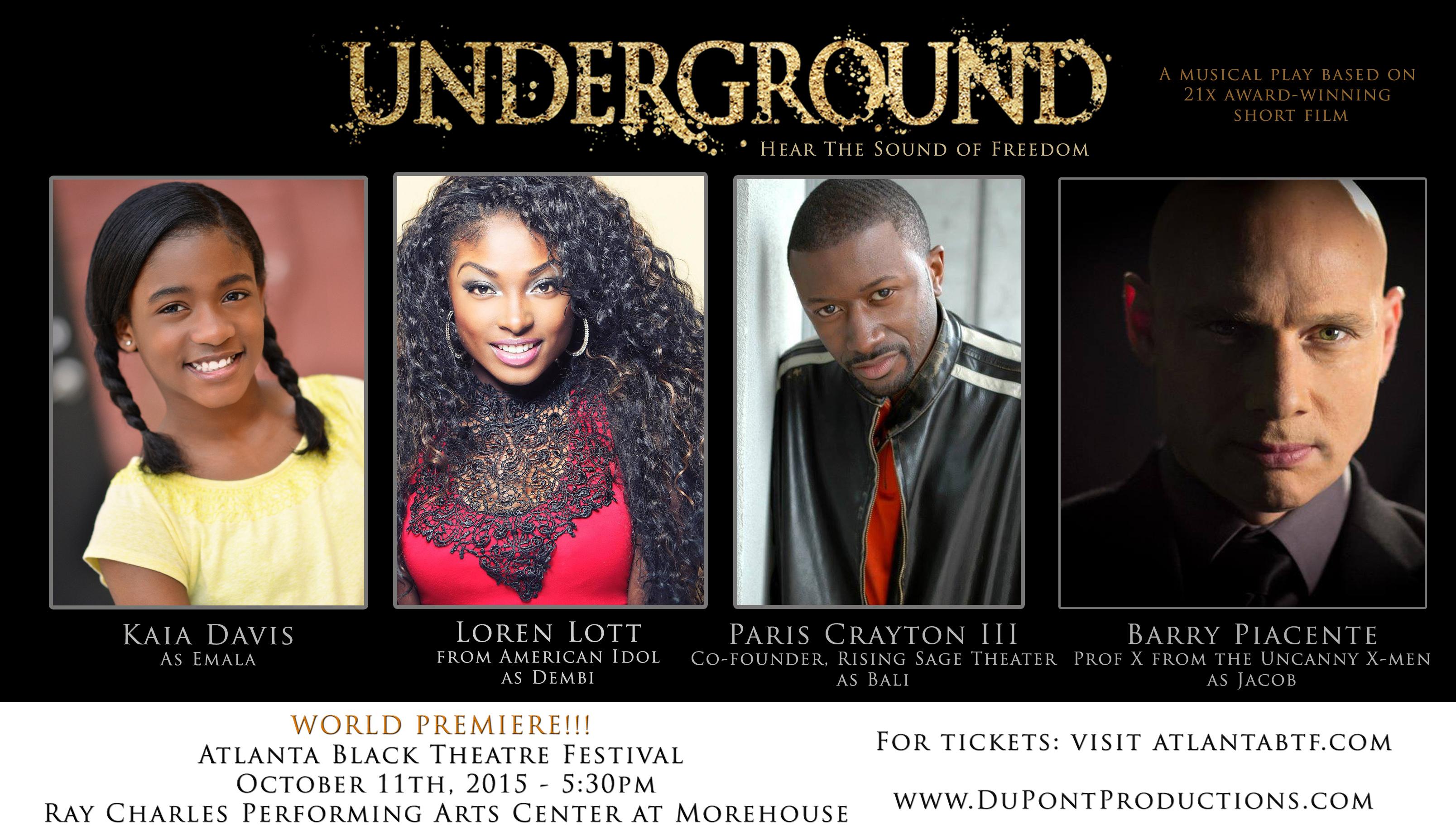 Underground Advertisement - Actor Banner4 - FB Cover