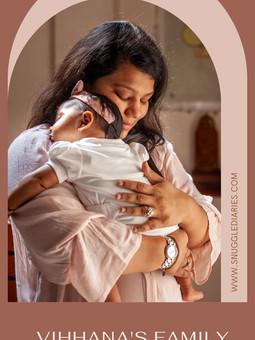 Vihhana's - In-home Newborn lifestyle Photoshoot & film