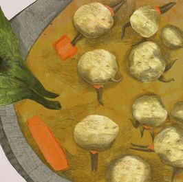 Kneidle soup