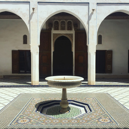 Atay Maghrebi: Bahia Palace and Reflecting in the Souks