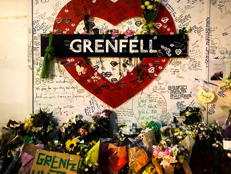 Grenfell Tower One Year On: the black and sodium hours