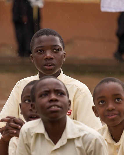 Attentive students at the New Foundation School, Kabale.