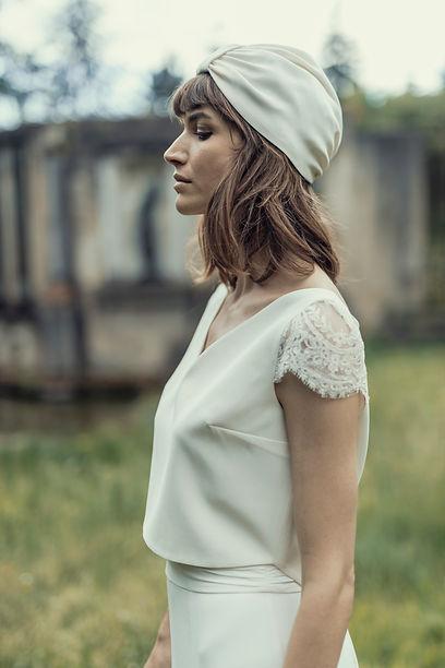 Headpiece Loulou - Laure de Sagazan