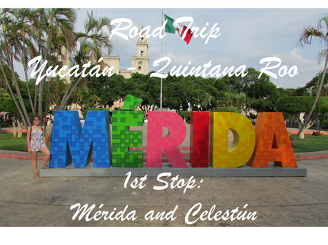Easter Road Trip from Yucatán to Quintana Roo / 1st Stop: 2 nights in Mérida with an escape in Celes