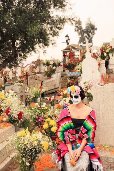 El Dia de los Muertos :  le Jour des Morts au Mexique.