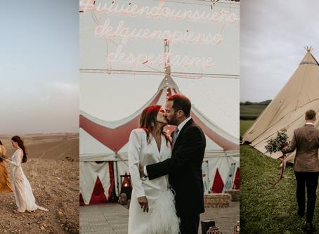 3 bodas diferentes que nos hacen soñar