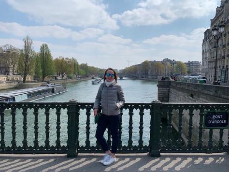 Voyage de printemps en Europe / 1 – Le marathon de Paris, Giverny et ballades parisiennes.
