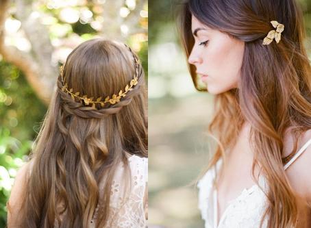 5 peinados de cabello suelto para un efecto natural el día de tu boda
