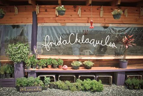 Sunday morning: Frida Chilaquiles!